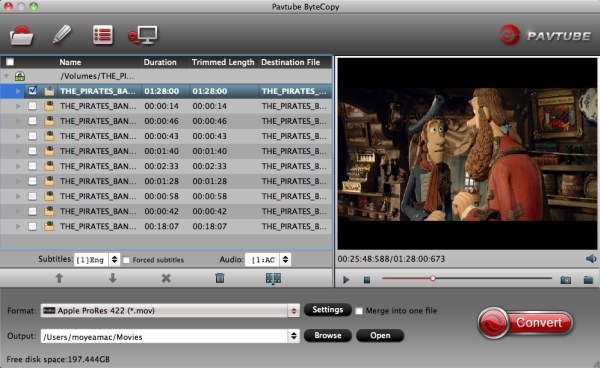 Blu-ray to FCP Converter