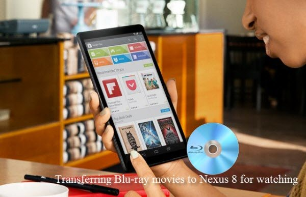 copy Blu-ray to Nexus 8
