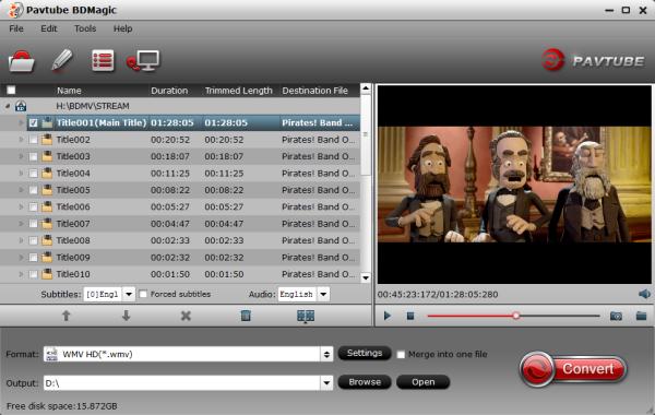 Blu-ray to WMP Ripper