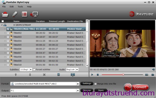 What about DTS-HD Master Audio, How to rip/decode it