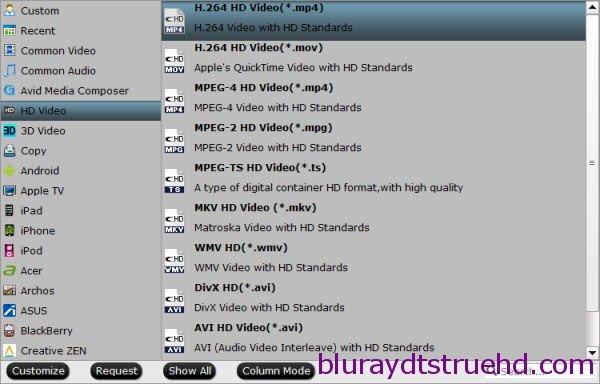 hd mp4 format