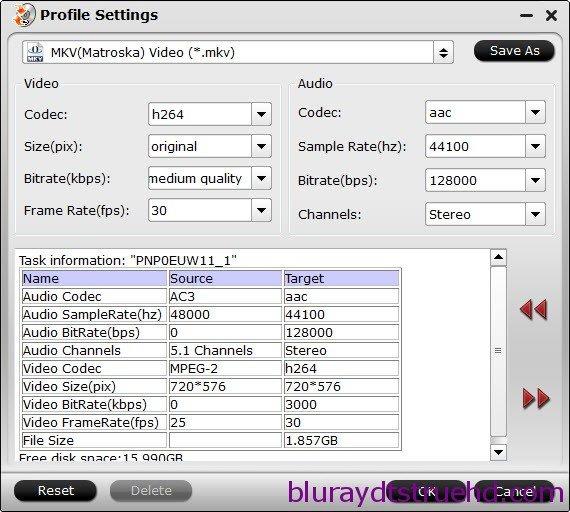 dune hd media player format settings