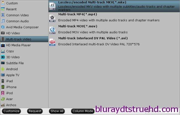 lossless backup blu-ray to mkv