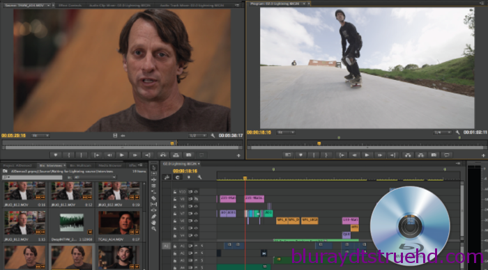 import Blu-ray/DVD videos into Premiere Pro
