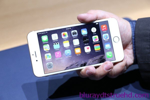 make blu-ray iso playable on iphone 6 plus