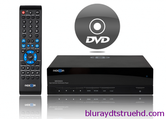 use a Mede8er Multi-Media player to play DVD