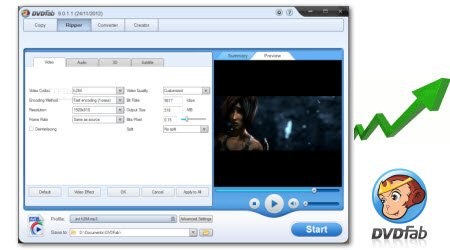 Get 10 Replacements of DVDFab Blu-ray Ripper for Blu-ray Ripping