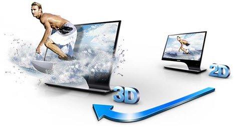 Convert 2D BD to 3D