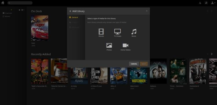 add dvd to plex